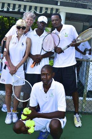Round Hill Hotel & Villas: Round Hill Tennis Pals
