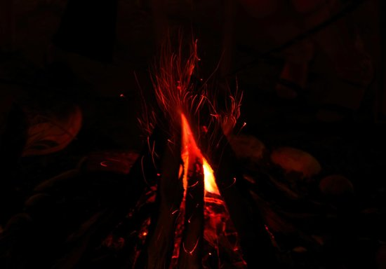 Baikunth Adventure Camp: Bonfire