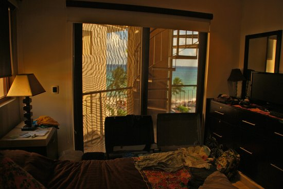 Residences El Faro: What a bedroom view!