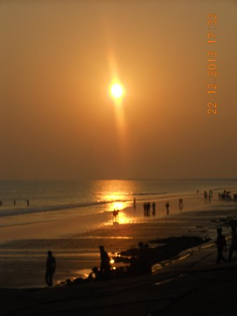 Midnapore, Indien: Sunset is extremely beautiful here.....