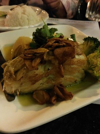 Ali Curry House: grill fish