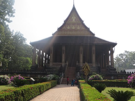 Ho Phra Keo: Front view