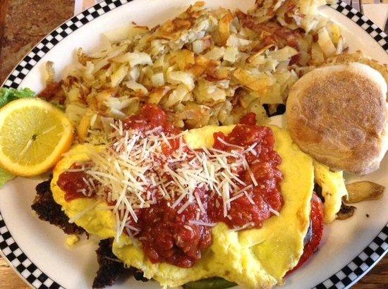 Black Bear Diner: The Godfather Omelette