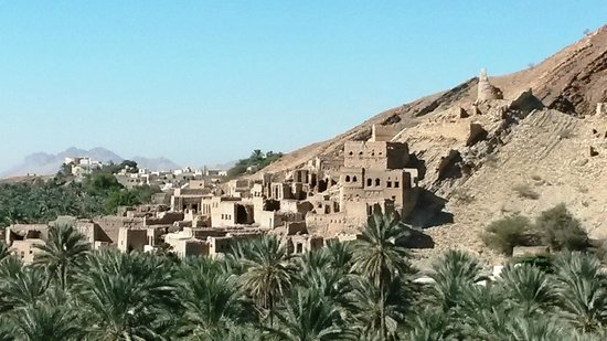 Nizwa, Oman: View of Site 2 from Site 1.
