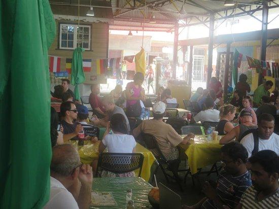 Taste of Jamaica: taken inside restaurant