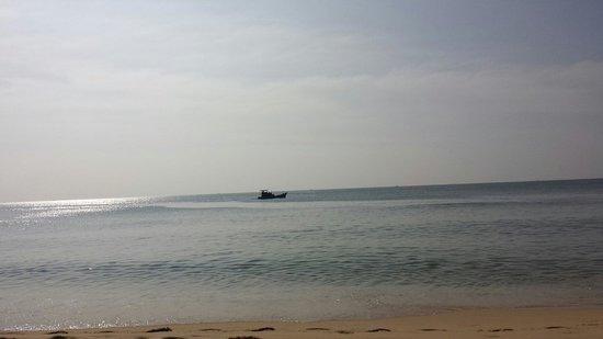 Kim Hoa Resort: Från solstolen...