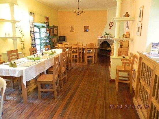 Casa Verde B&B : столовая