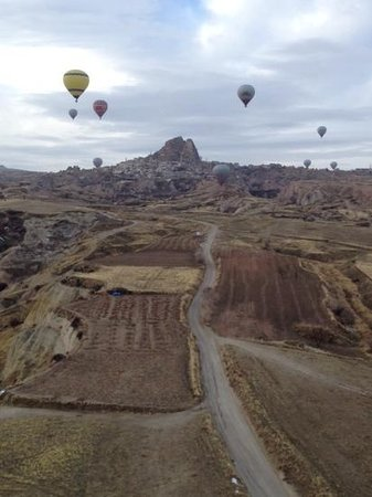 Cappadocia Voyager Balloons : one of the many great views