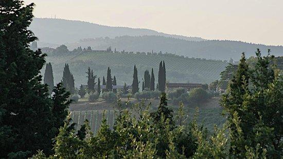 Torre di Ponzano - Chianti area - Tuscany -: View from ponzano