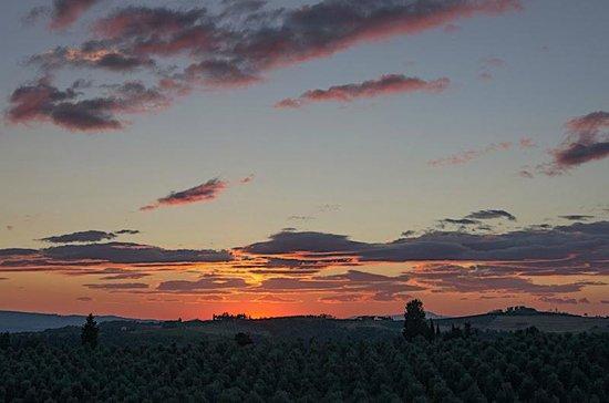 Torre di Ponzano - Chianti area - Tuscany -: Sunset in Ponzano