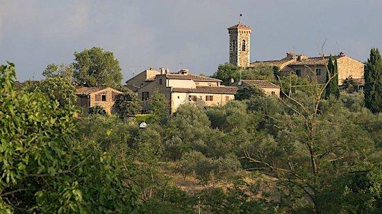 Torre di Ponzano - Chianti area - Tuscany -: The hamlet of San Filippo