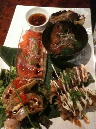 Toshiya Restaurant: Special assorted entree for two