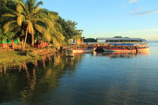Cabanas Paraiso : Ponton de l'hôtel