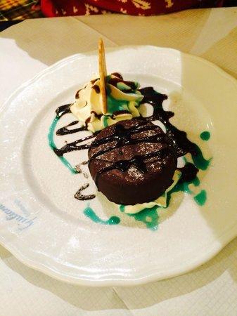 Giuliano's: Mint ice cream