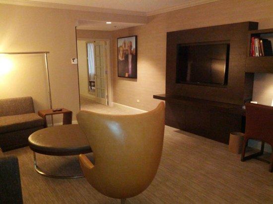 door into living room
