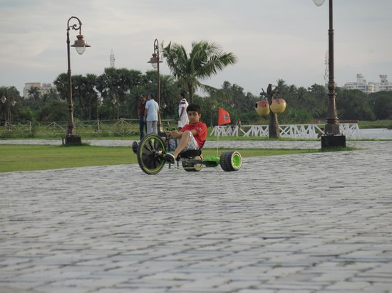 Eco Tourism Park: Green machine rides for kids besides cycling and other adventure activities
