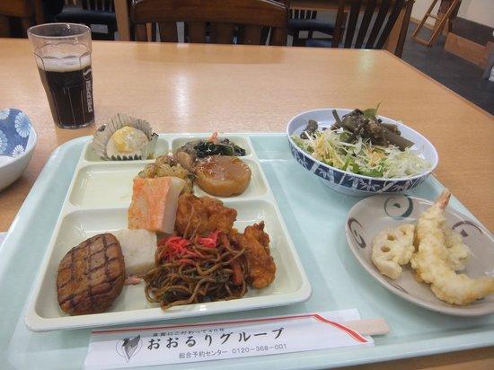 Hotel Sawakaze: 夕食