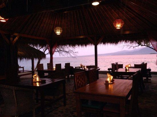 Biba Beach Cafe - Ristorante Italiano: Dinner Time
