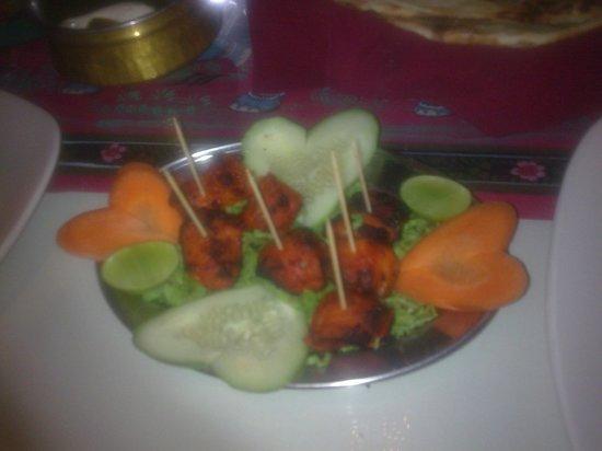 Papadam Ria: Chicken tikka for the kiddos