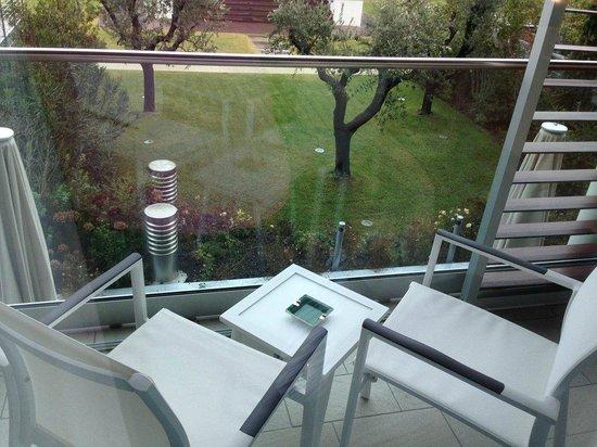 Aqualux Hotel Spa & Suite Bardolino: unser Balkon