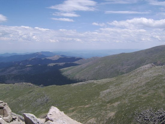 Mount Evans: View from Mt Evans CO
