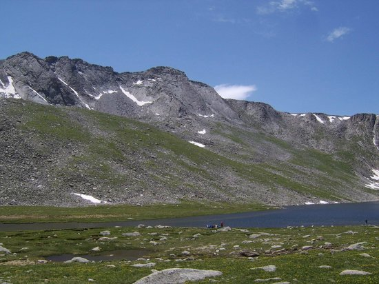 Mount Evans: Summit Lake, Mt Evans CO