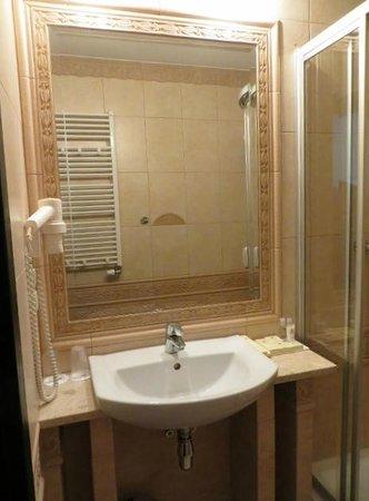 Hotel Wloski: Baño