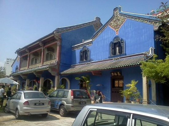 """Cheong Fatt Tze - The Blue Mansion: Also known as the """"Blue Mansion""""."""