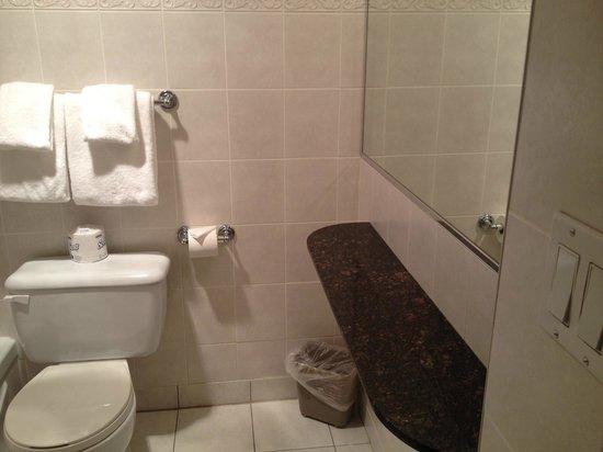 Century Plaza Hotel & Spa: Large Bathroom