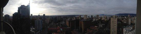 Century Plaza Hotel & Spa: Panoramic from balcony.