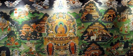 Hotel Yak & Yeti: Lobby Mural