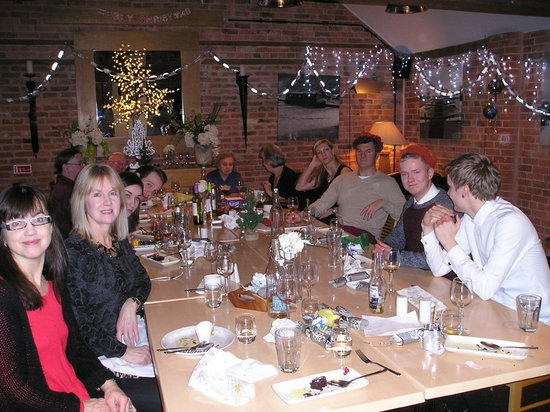 Waterfront Restaurant and Bar: Family Boxing Day Meal