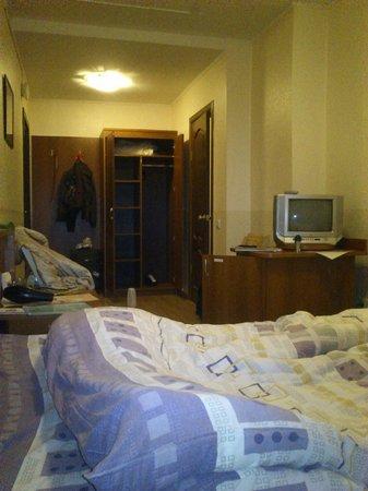 Veles Hotel: номер со стороны окна