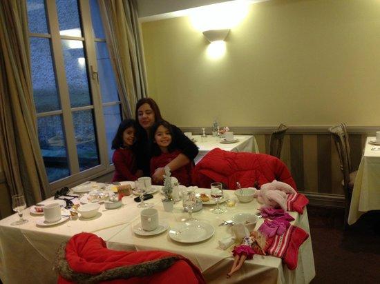 Residence du Roy Hotel : breakfast....