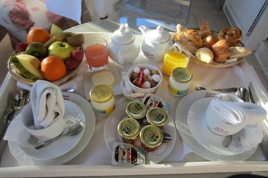 La Bastide de Saint Tropez : Petit déjeuner