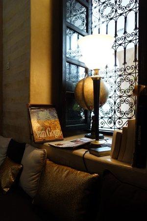 Riad Magellan: Dining room detail