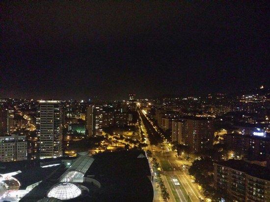 Barcelona Princess: Night time view