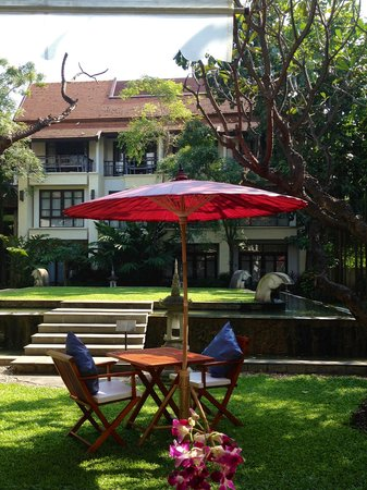 Bodhi Serene Hotel : view from the breakfast area
