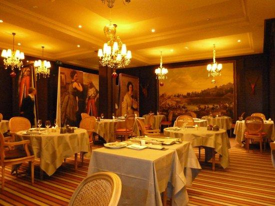 Les Etangs de Corot : Le restaurant Le Corot