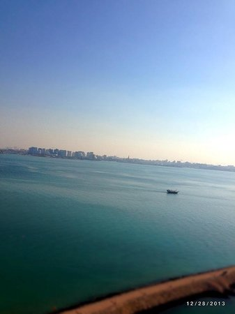 Sheraton Grand Doha Resort & Convention Hotel : the view