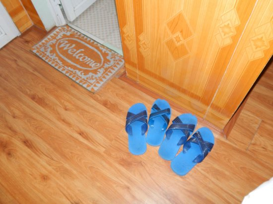Avi Airport Hotel: Slippers