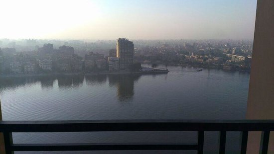Fairmont Nile City: 18th floor room Nile view