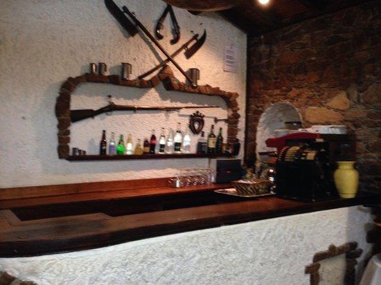 Hotel Restaurant La Chaumière : Le bar