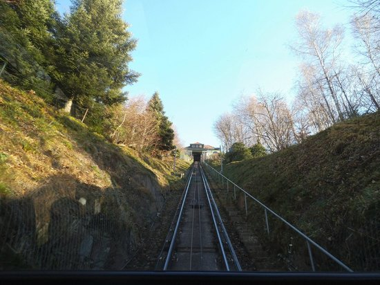 Merkur Mountain: On the way up.