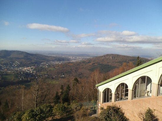 Merkur Mountain: Baden Baden.
