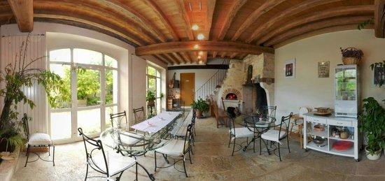 Domaine Maltoff : Vue panoramique Salle à Manger