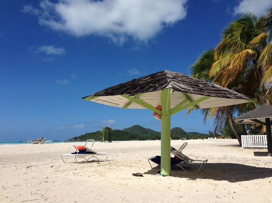 Tranquility Bay Antigua: The beach