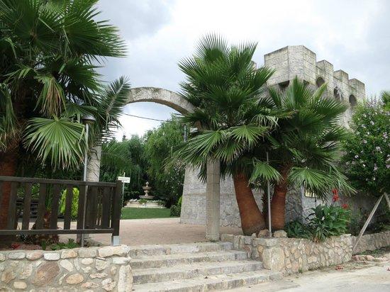 El Alamo Pension: Jardines de El Alamo