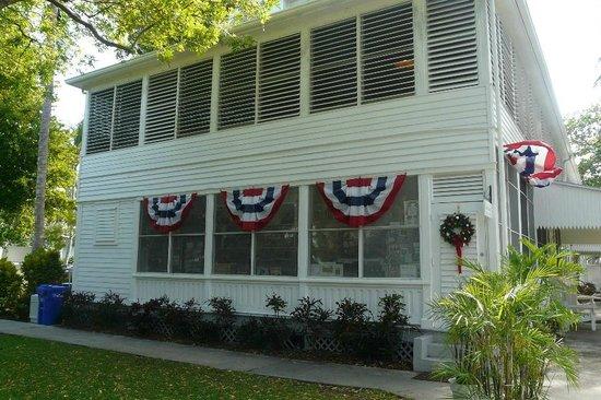 Harry S. Truman Little White House : Exterior of the Little White House