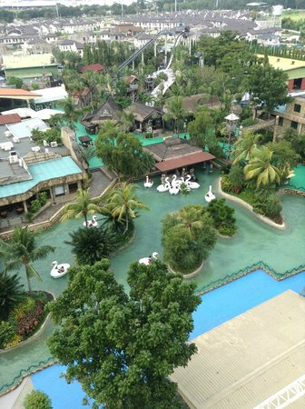 """Enchanted Kingdom: View from """"Wheel of Fate"""""""